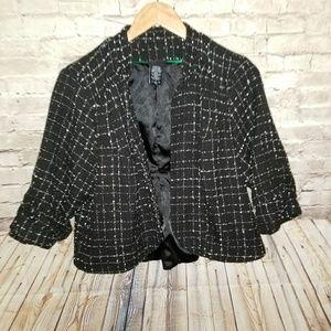 TORRID Career Tweed Open Blazer